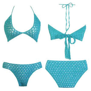Flexible Fashions 2 In 1 Bikini Crochet Pattern