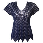 Cascading Ripple Top